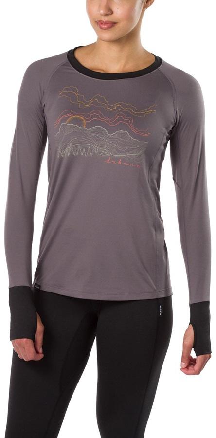 Dakine Lupine Lightweight Women's Long Sleeve T-Shirt, XS Shark