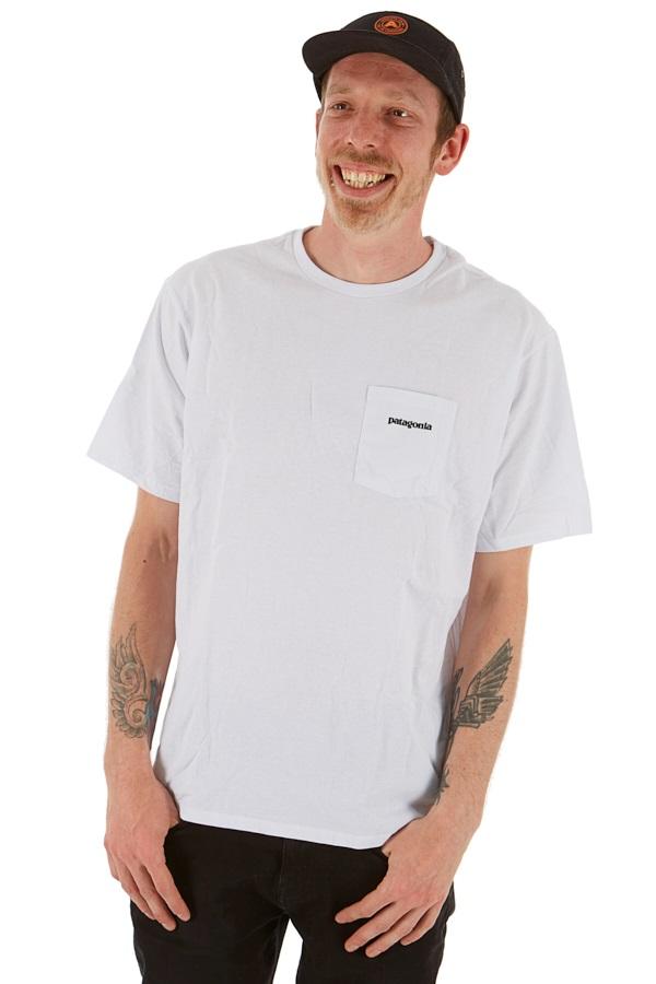 Patagonia P-6 Logo Pocket Responsibili-tee T-Shirt M White