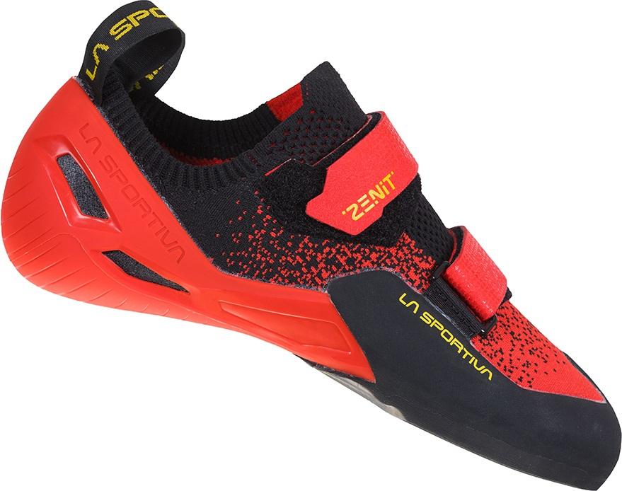 La Sportiva Adult Unisex Zenit Rock Climbing Shoe, Uk 7.5 | Eu 41 Poppy/Black