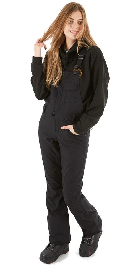 Volcom Swift Bib Overall Women's Snowboard/Ski Pants S Black