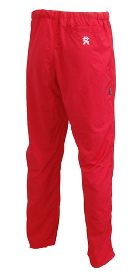 "Troll Omni Pants Unisex Hiking/Climbing Trousers L - waist 34"" Red"