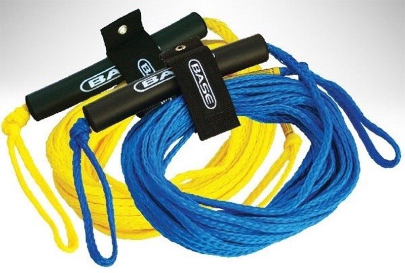 Base 2K Towable Tube Rope, 1 Rider Yellow
