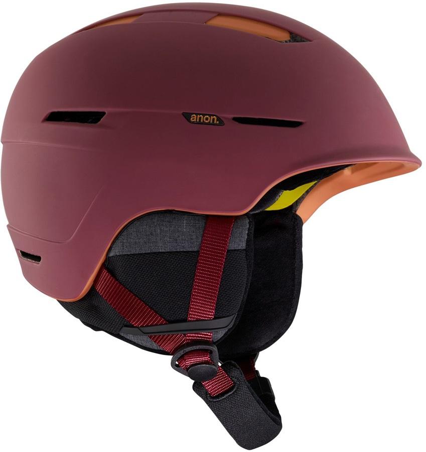 Anon Invert Ski/Snowboard Helmet, S Maroon