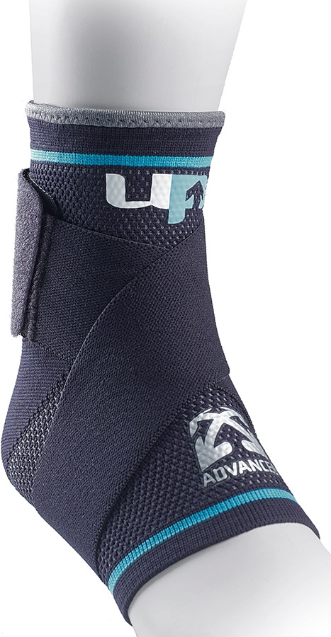 Ultimate Performance Advanced Compression Ankle Support, XL Black