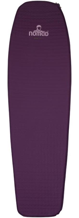 NOMAD® Jade 2.5 Mat Ultralight SI Camping Pad, Deep Purple