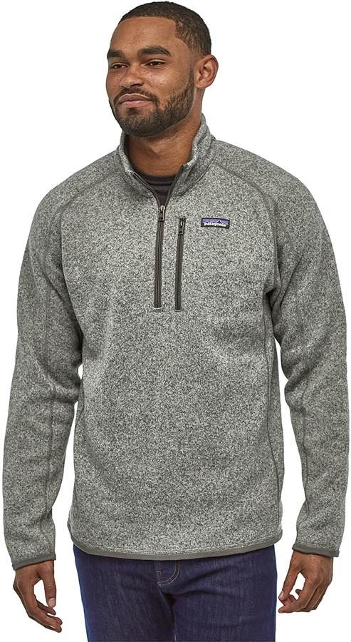 Patagonia Adult Unisex Better Sweater 1/4 Zip Pullover Fleece Jacket, M Stonewash