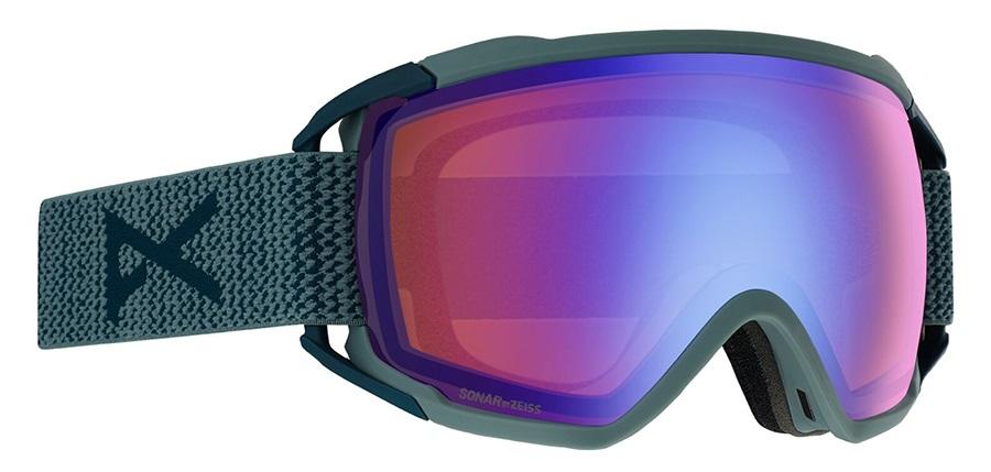 Anon Circuit Sonar Blue Ski/Snowboard Goggles, L Lay Back 2020