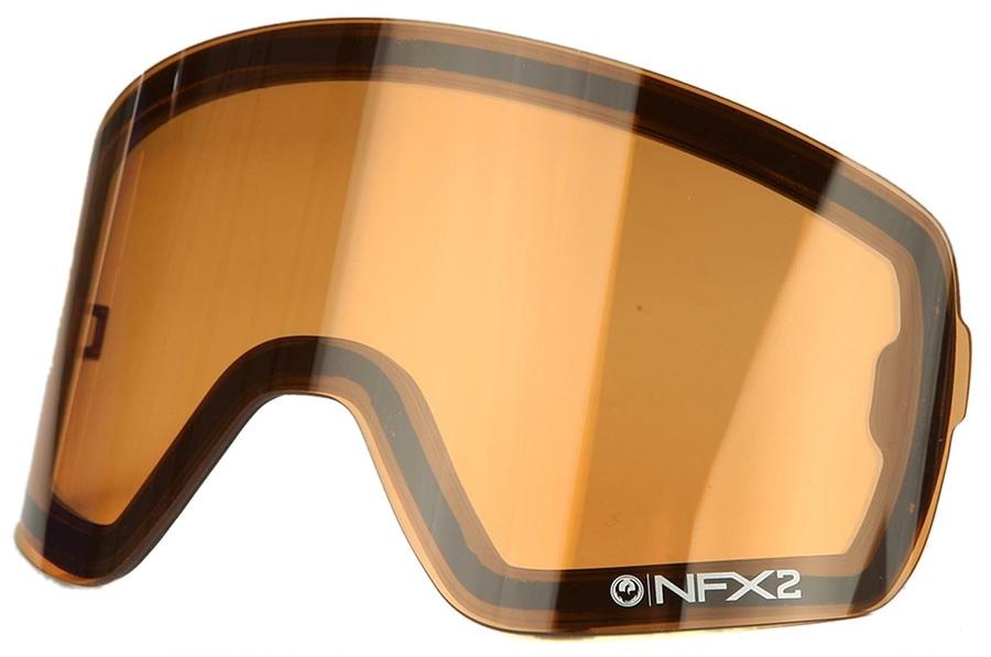 Dragon NFX2 Ski/Snowboard Goggles Spare Lens, Amber