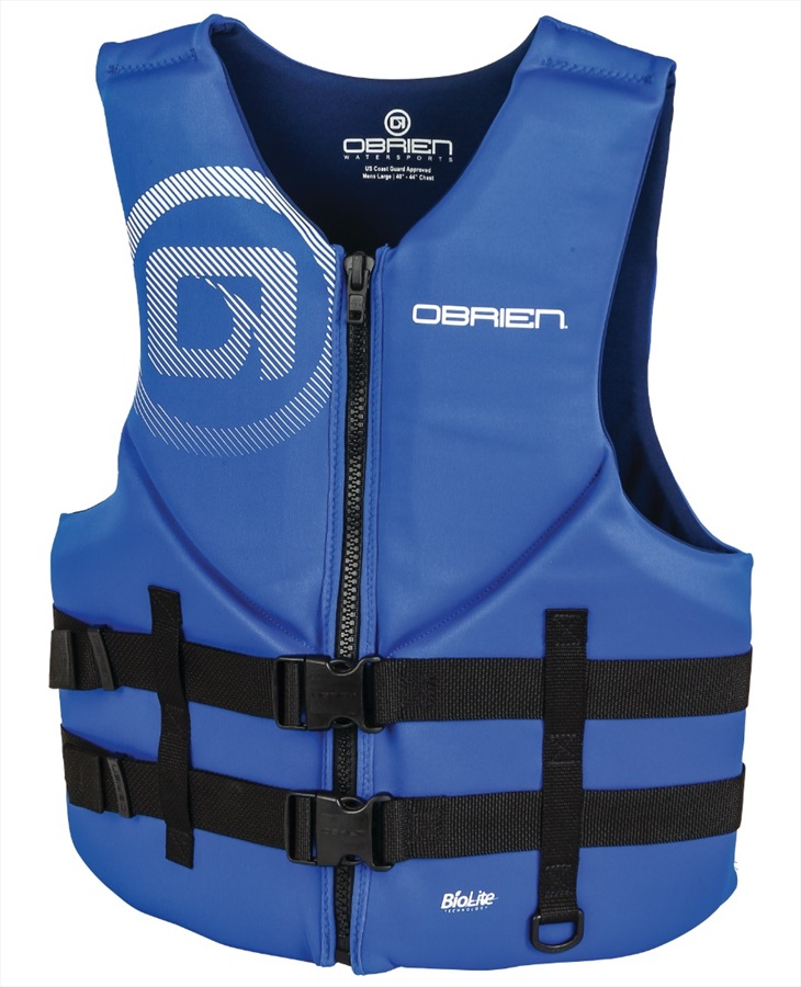 O'Brien Traditional Watersports Impact Buoyancy Aid, L Blue Navy 2021