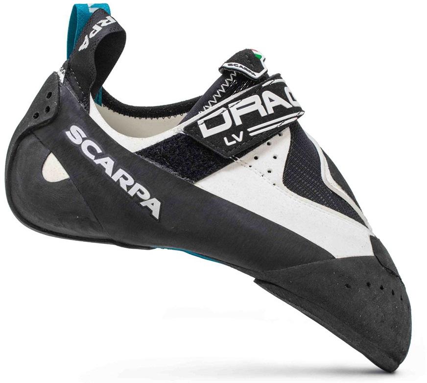 Scarpa Adult Unisex Drago Lv Rock Climbing Shoe, Uk 9 | Eu 43 White