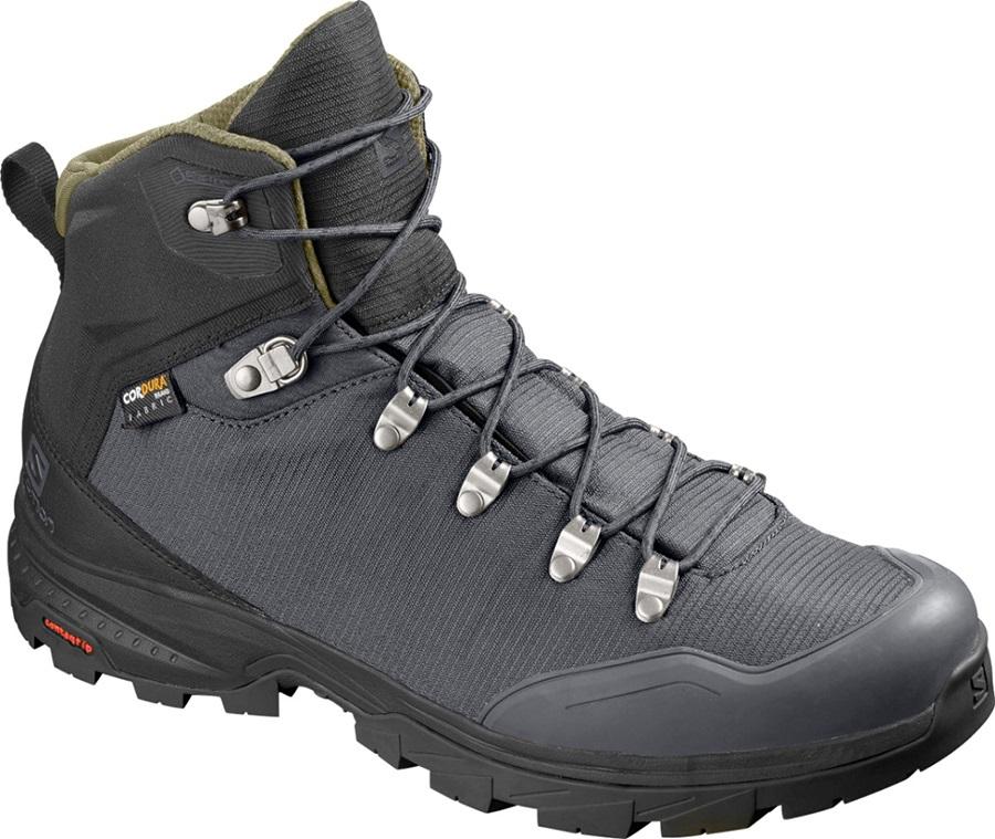 Salomon Adult Unisex Outback 500 Gtx Hiking Boots, Uk 9 Ebony/Black/Grape Leaf