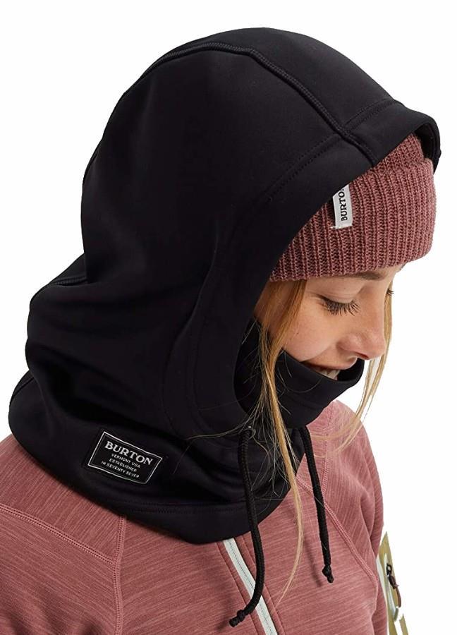Burton Adult Unisex Bonded Hood Ski/Snowboard Hood, Xl True Black