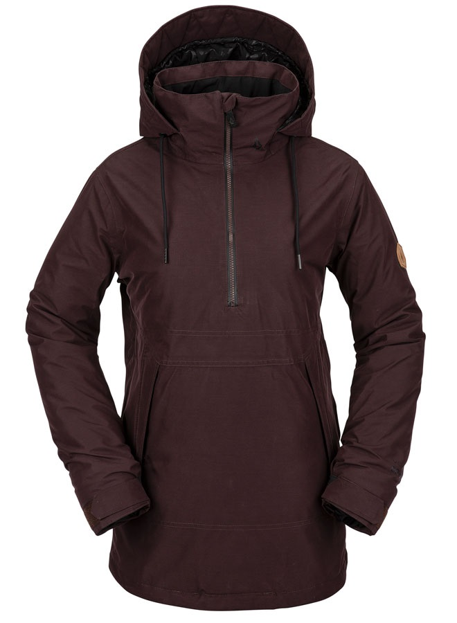 Volcom Fern Gore-Tex Pullover Womens Ski/Snowboard Jacket, Uk 10 Red
