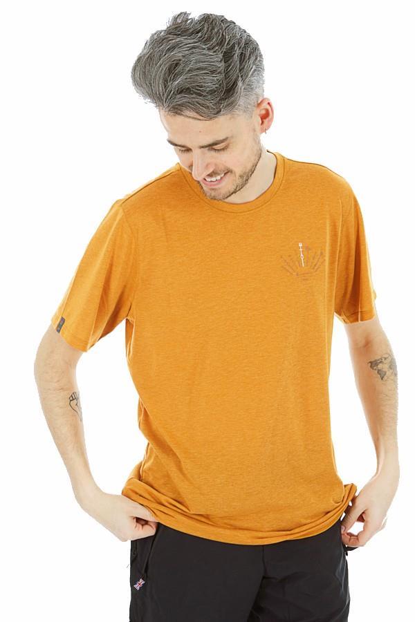 Montane Adult Unisex X Bmc Trad Short Sleeve Climbing T-Shirt, L Gold
