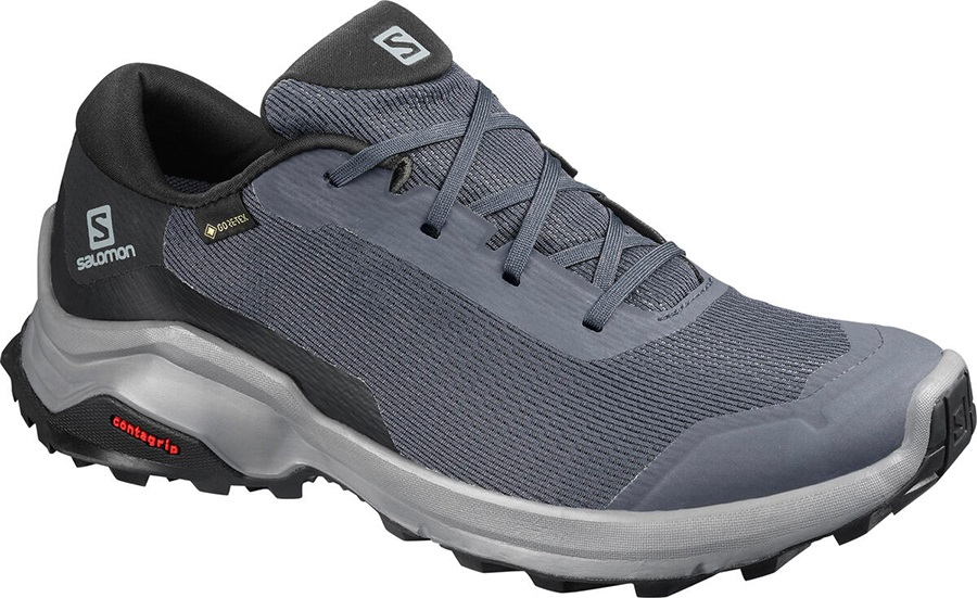 Salomon X Reveal Gtx Womens Hiking Shoe, Uk 4 Ebony/Black