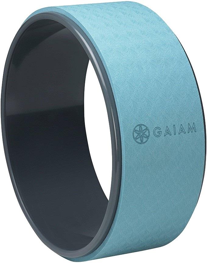 "Gaiam Eco Fitness Pose Pilates/Yoga Wheel, 12"" Granite Riverside"