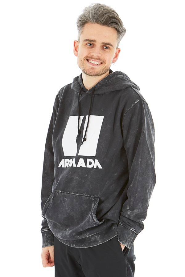 Armada Icon Snowboard/Ski Hoodie, M Black Enzyme