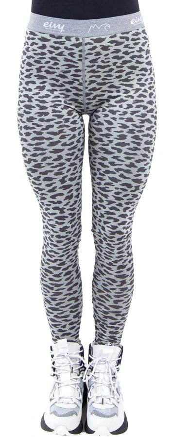 Eivy Icecold Tights Women's Baselayer Leggings, XS Grey Leopard