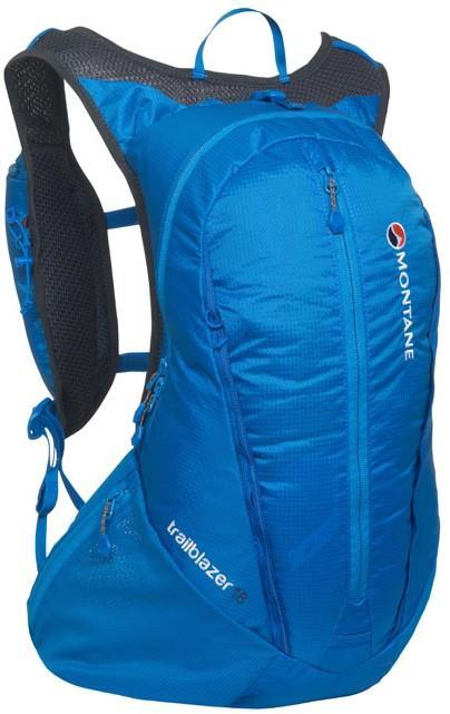 Montane Trailblazer Lightweight Trekking Backpack, 30L Electric Blue