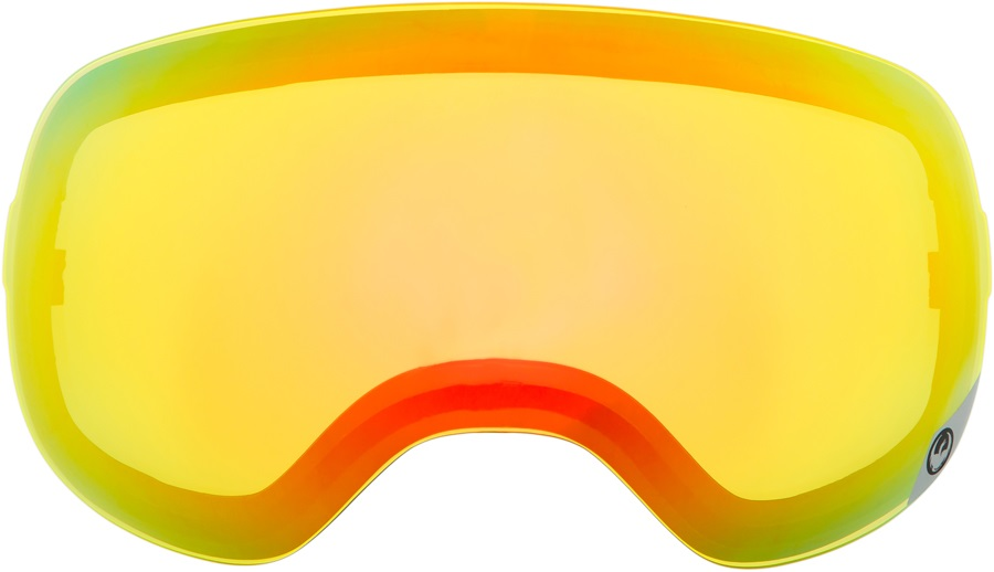 Dragon X1 Snowboard/Ski Goggle Spare Lens, One Size, Yellow Red Ion