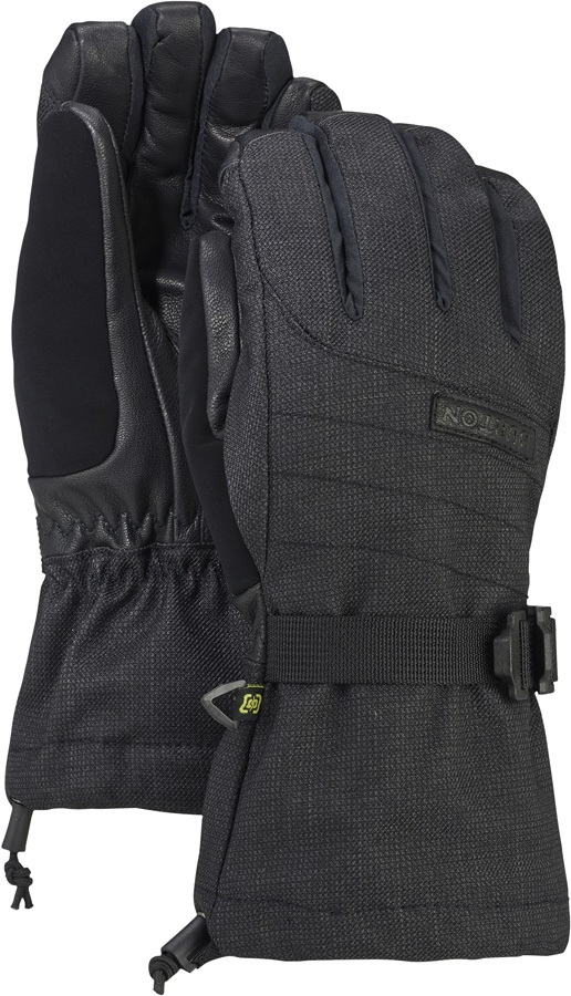 Burton Deluxe Gore-Tex Women's Ski/Snowboard Gloves, S True Black
