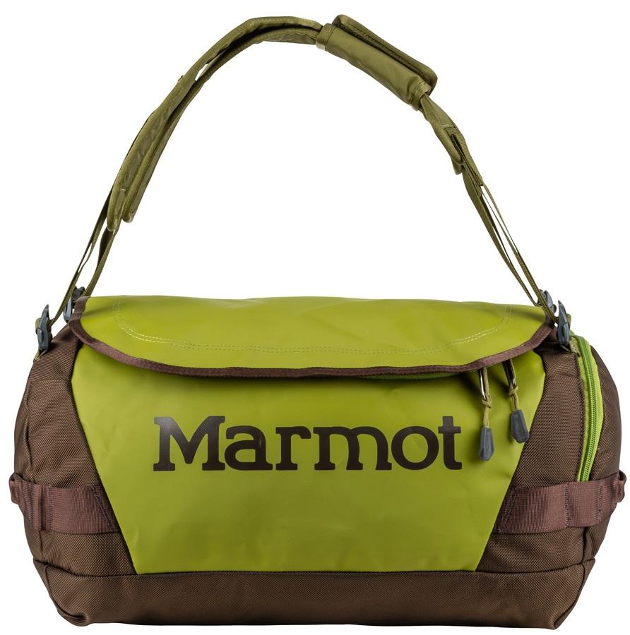 Marmot Long Hauler Duffel Travel Bag - 35L, Cilantro / Raven