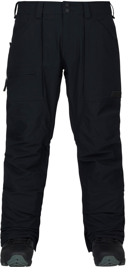 Burton Southside Slim Snowboard/Ski Pants, XL, True Black