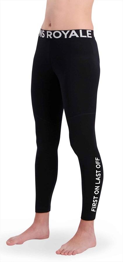 Mons Royale Christy Women's Merino Wool Leggings M Black