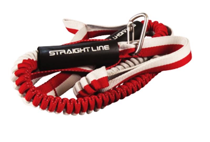 Straight Line Deluxe Dock Tie 6 Ft Red