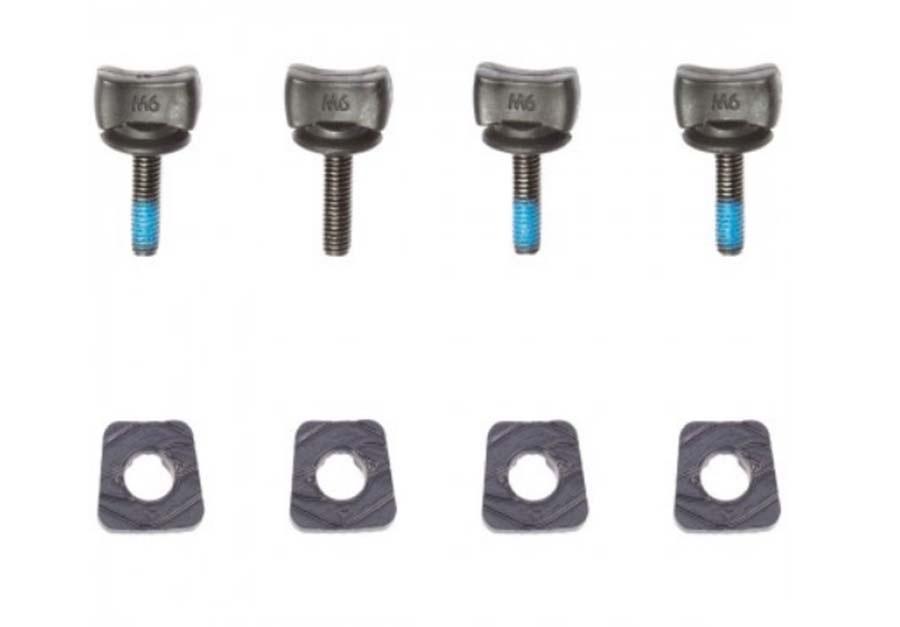 Hyperlite Low Pro Thumb Screw Hardware Kit, Set Of 4 Black 2021