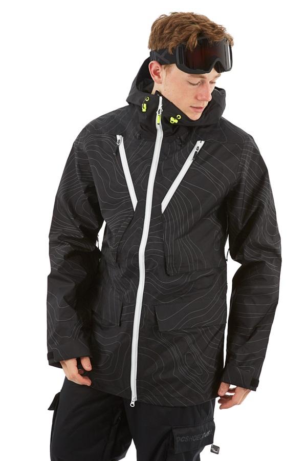 Wearcolour Raven Ski & Snowboard Jacket, XS Black Elevation