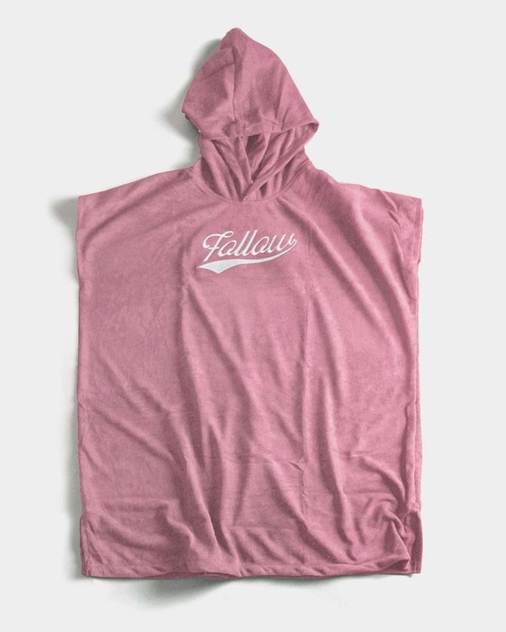 Follow Towlie Poncho Towel Change Robe, S Pink 2021