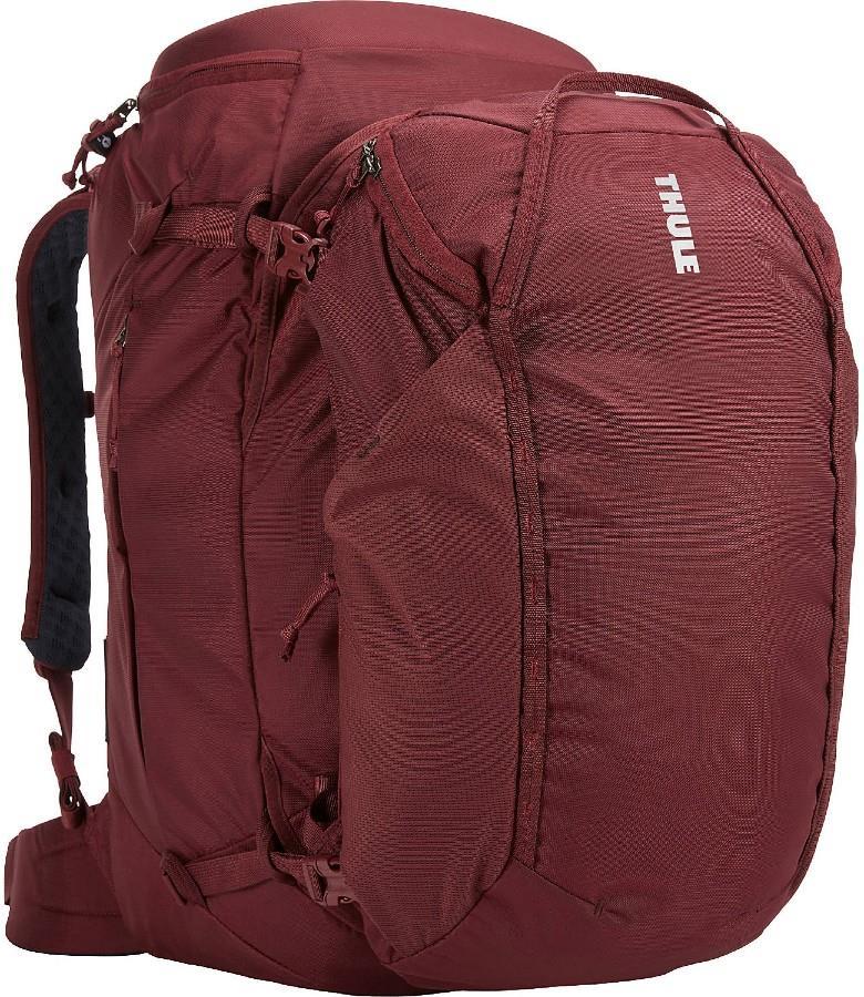 Thule Landmark 60L Travel Backpack, 60L Dark Bordeaux