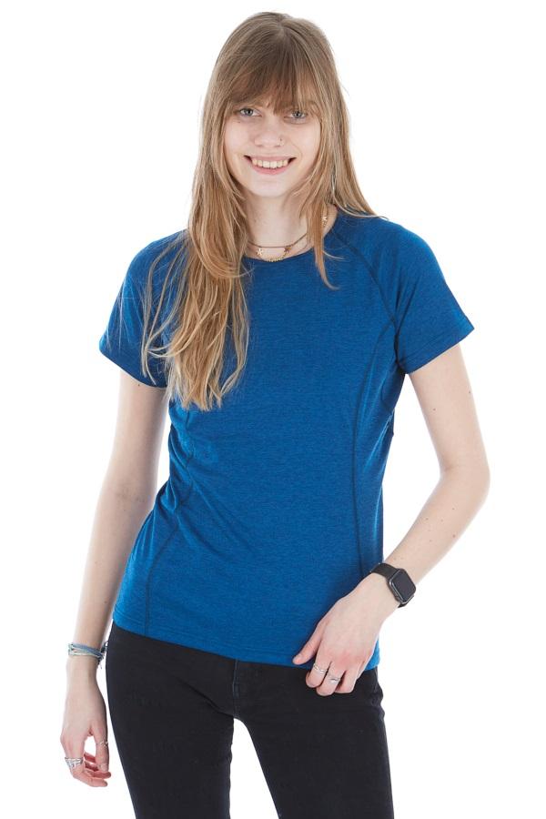 Montane Dart Women's Technical Crew T-shirt, UK 14 Narwhal Blue