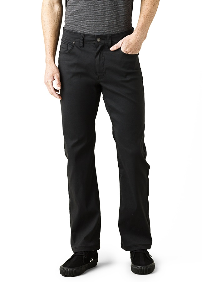 Prana Brion Pant Regular Men's Rock Climbing Trousers, M Black