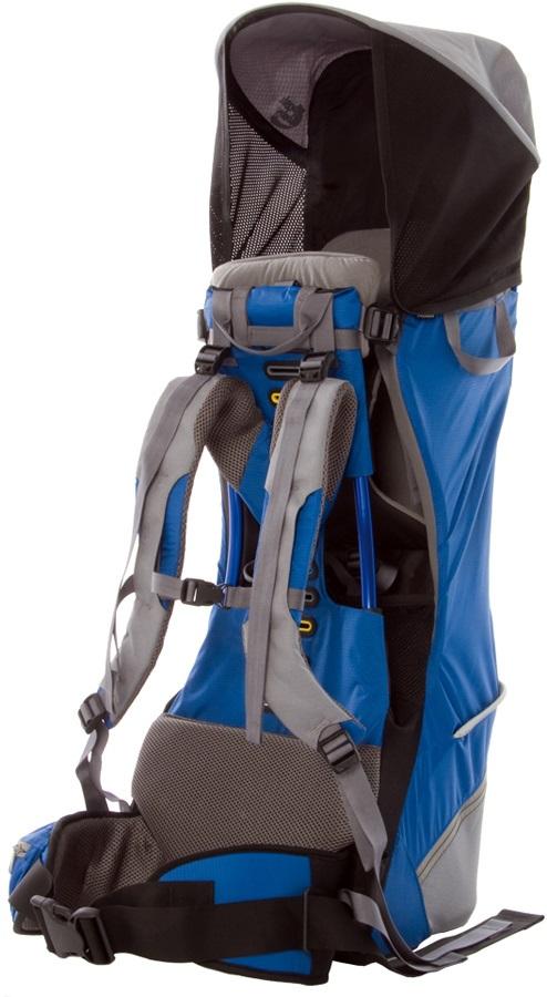 Bushbaby Premier Child Carrier Hiking Backpack Blue/Grey