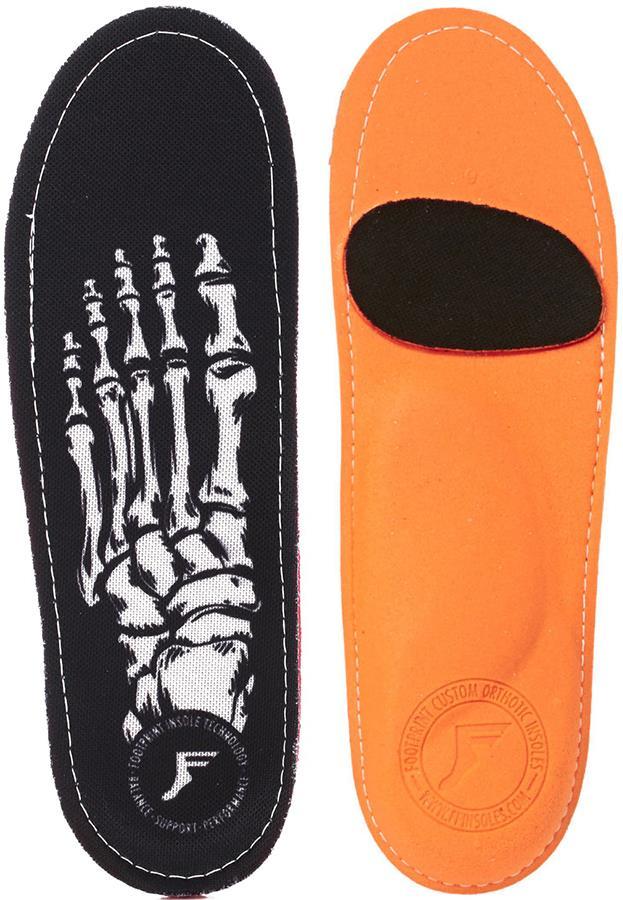 Footprint Skeleton King Foam Orthotic Insoles, UK 7.5-8 Black