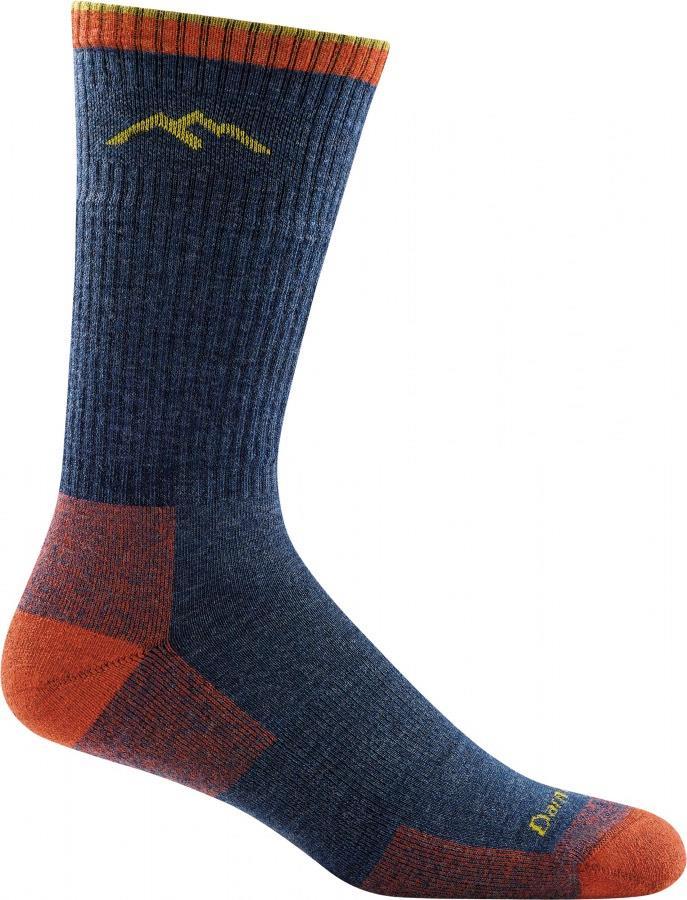 Darn Tough Adult Unisex Hiker Boot Full Cushion Hiking Socks, M Denim