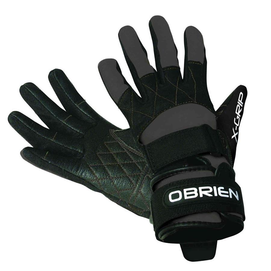 O'Brien Competitor X Grip Waterski Wakeboard Gloves, XS Black