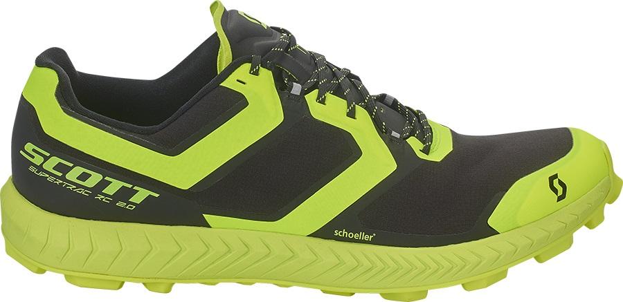 Scott Supertrac RC 2 Running Shoes, UK 7.5   EU 42 Green/Black