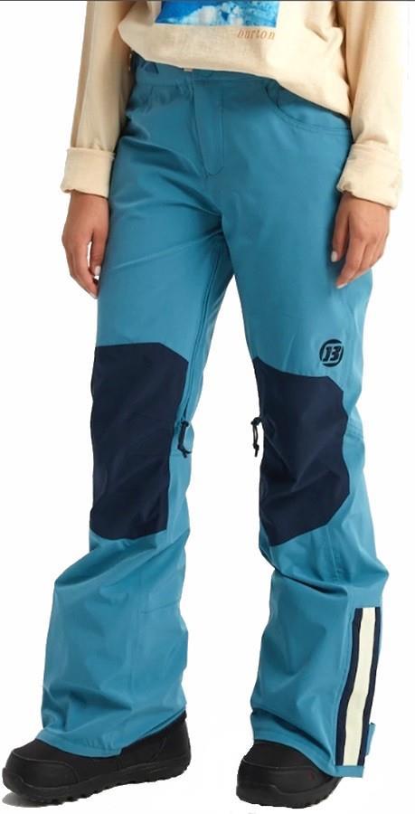 Burton Retro 2 Layer Women's Snowboard/Ski Pants, S Storm Blue
