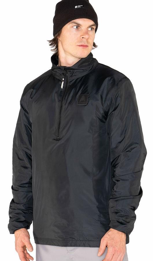 Armada Lassen Pullover Ski/Snowboard Jacket, M Black