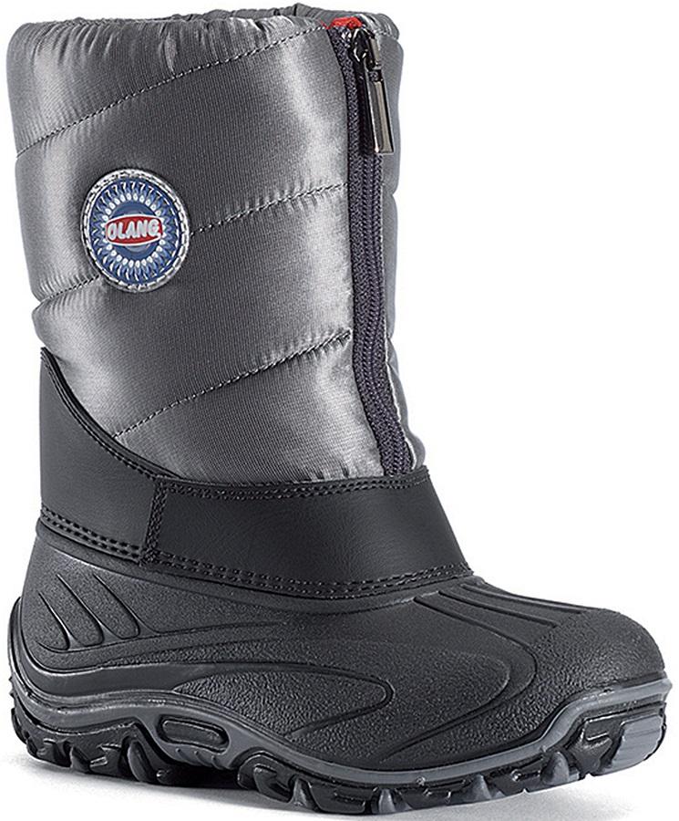 Olang BMX Kids Winter Snow Boots, UK Child 9.5/10.0 Anthracite