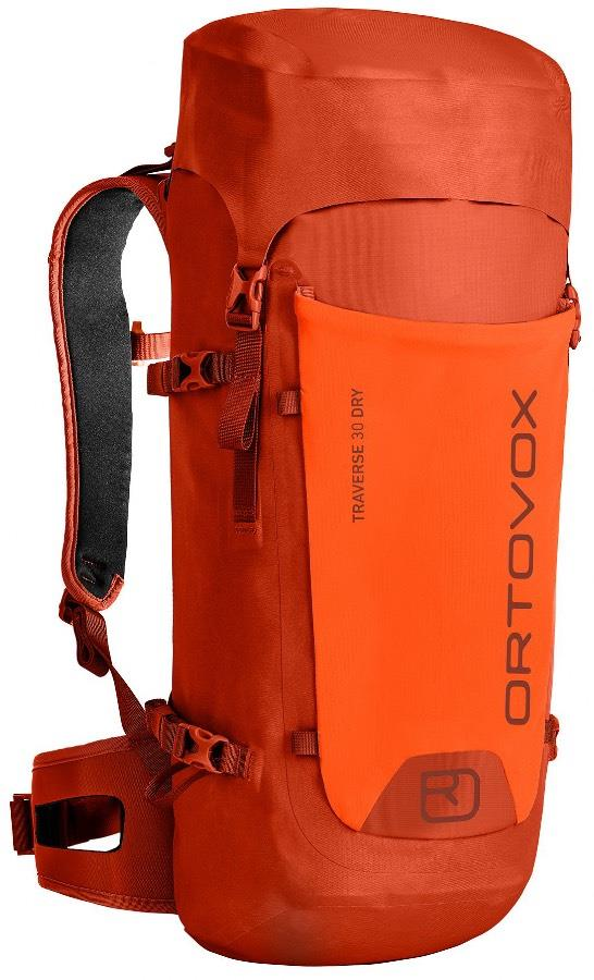 Ortovox Traverse 30 Dry Mountain Backpack/Rucksack 30L Desert Orange