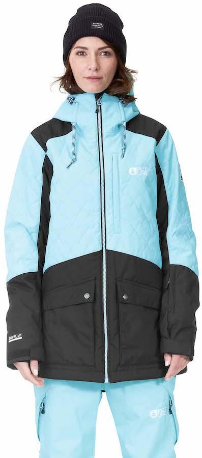Picture Minera Women's Ski/Snowboard Jacket, UK 10 Turquoise