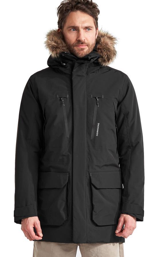 Didriksons Marco Waterproof Padded Parka Coat, XL Black