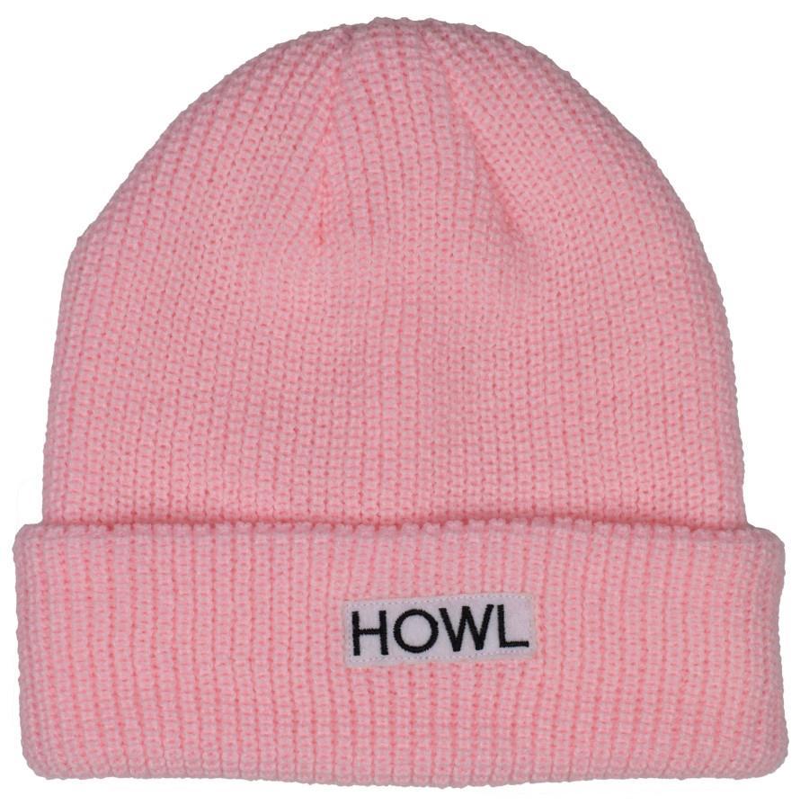 Howl Gasoline Ski/Snowboard Beanie, One Size Pink