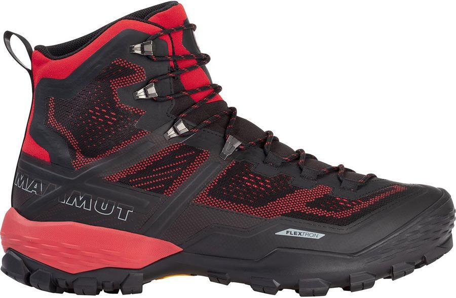 Mammut Ducan High GTX Men's Hiking Boots, UK 10 Black/Dark Spicy