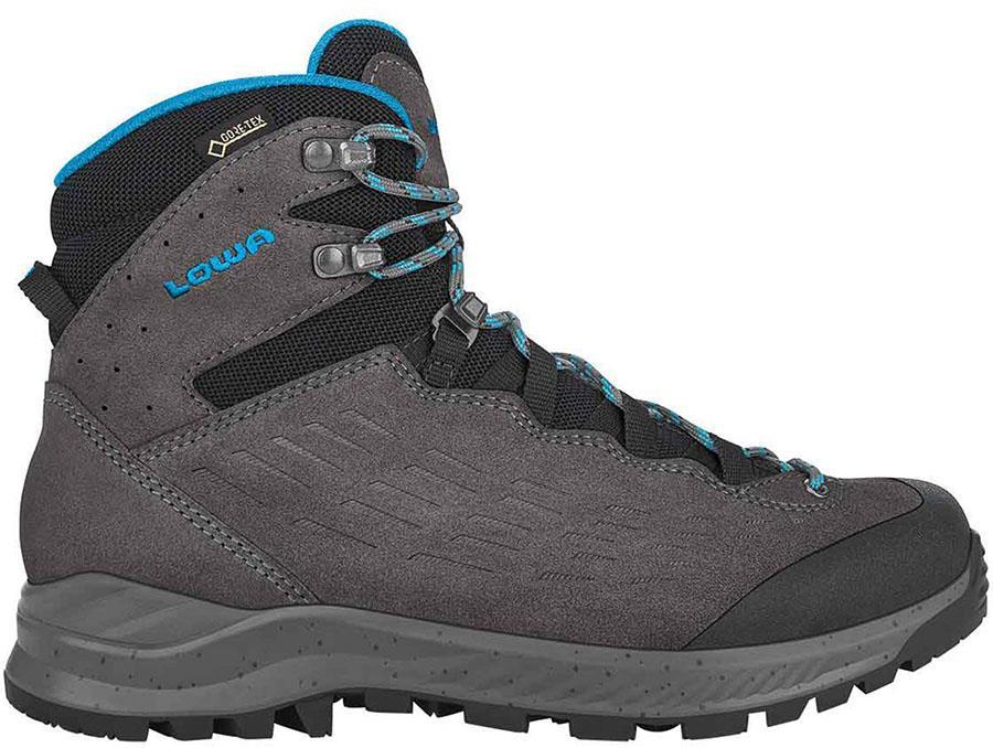Lowa Explorer Mid Women's Gore-Tex Hiking Boots, UK 4 Anthracite