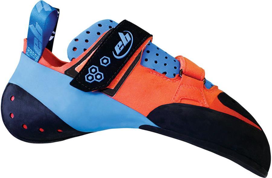 EB Sentinel Rock Climbing Shoe, UK 8 | EU 42 Orange/Blue